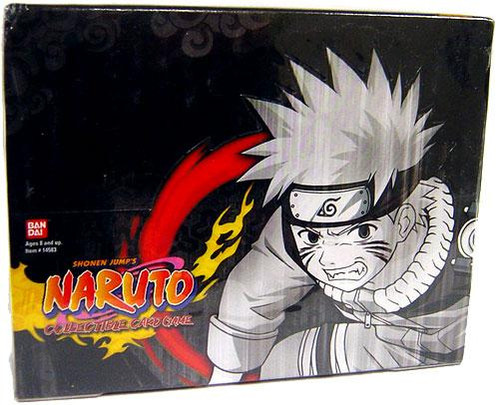 Naruto Card Game The Path to Hokage Booster Box [24 Packs]