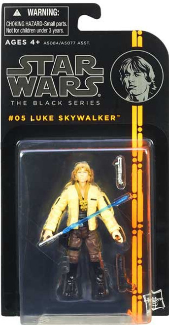 Star Wars A New Hope Black Series Wave 1 Luke Skywalker Action Figure #05