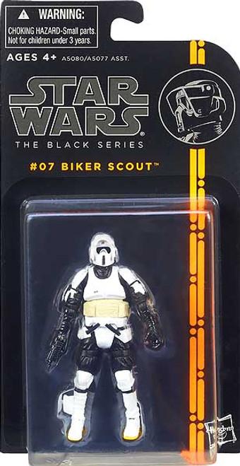 Star Wars Return of the Jedi Black Series Wave 1 Biker Scout Trooper Action Figure #07