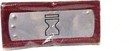 Naruto Red Sash Sand Village Hidden in the Sand Metal Plated Headband