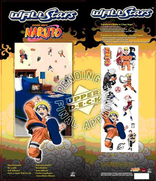 Naruto Wall Stars Wall Decals