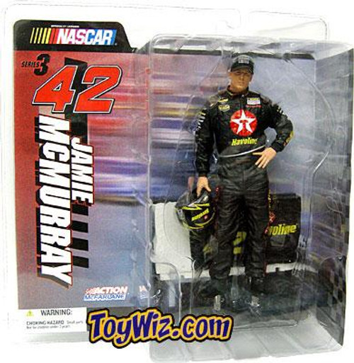 McFarlane Toys NASCAR Series 3 Jamie McMurray Action Figure [No-Glasses V]