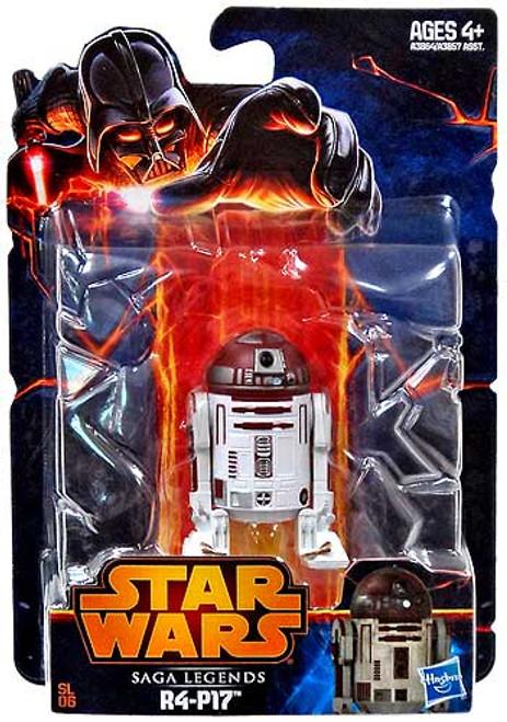 Star Wars Revenge of the Sith Saga Legends 2013 R4-P17 Action Figure SL06