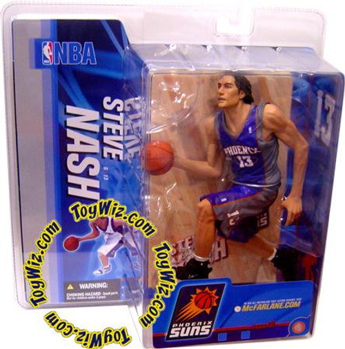 McFarlane Toys NBA Phoenix Suns Sports Picks Series 10 Steve Nash Action Figure [Purple Jersey Variant]