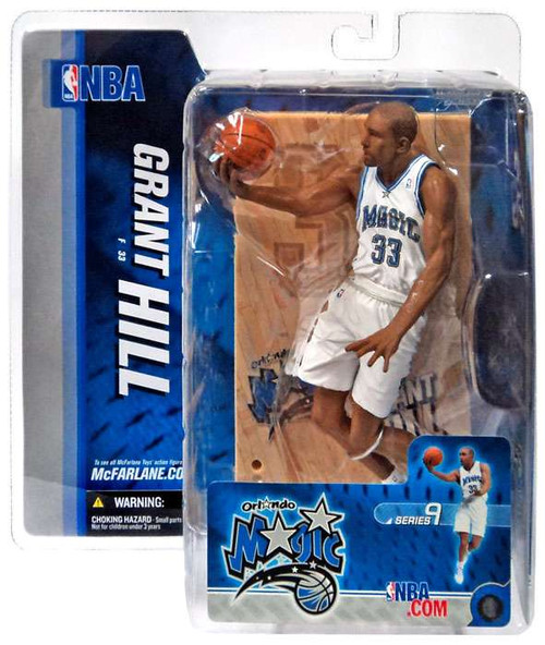 McFarlane Toys NBA Orlando Magic Sports Picks Series 9 Grant Hill Action Figure [White Jersey]