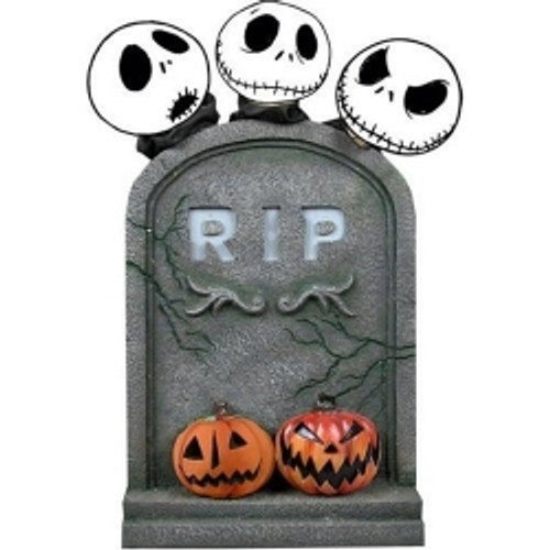 NECA The Nightmare Before Christmas Tombstone Exclusive Decoration
