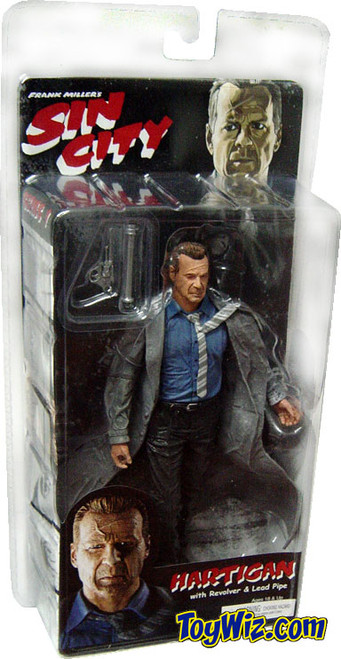 NECA Sin City Series 1 John Hartigan Action Figure [Color Variant]