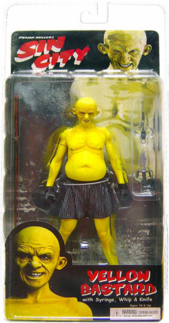 NECA Sin City Series 1 Yellow Bastard Action Figure [Smiling]