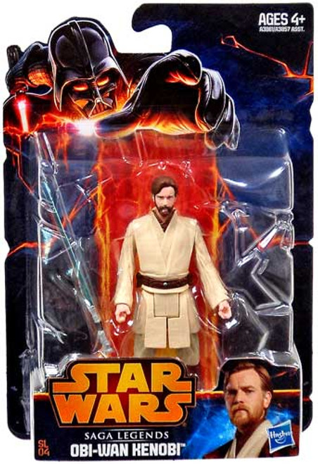 Star Wars Revenge of the Sith Saga Legends 2013 Obi Wan Kenobi Action Figure SL04