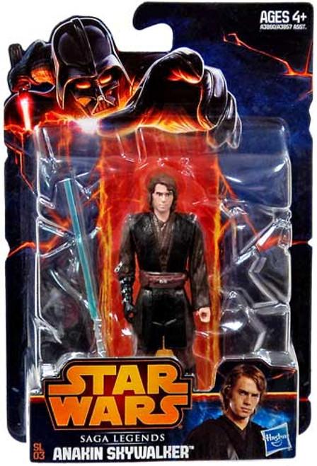 Star Wars Revenge of the Sith Saga Legends 2013 Anakin Skywalker Action Figure SL03