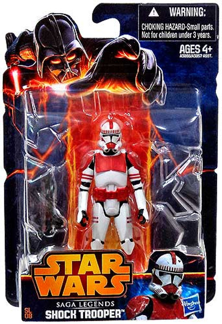 Star Wars Revenge of the Sith Saga Legends 2013 Clone Shock Trooper Action Figure SL08