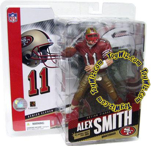 McFarlane Toys NFL San Francisco 49ers Sports Picks Series 11 Alex Smith Action Figure [Red Jersey]