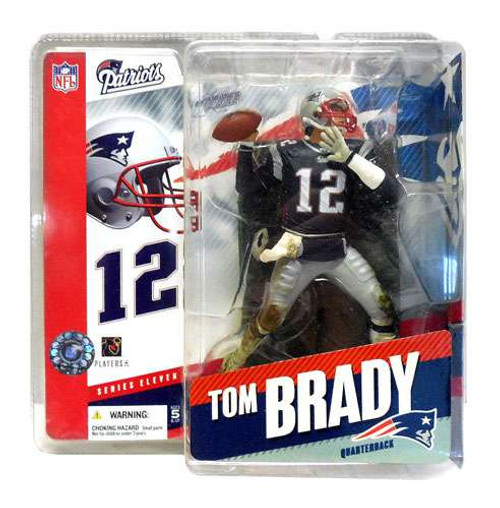 McFarlane Toys NFL New England Patriots Sports Picks Series 11 Tom Brady Action Figure [Blue Jersey]