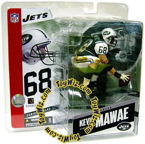 McFarlane Toys NFL New York Jets Sports Picks Series 12 Kevin Mawae Action Figure