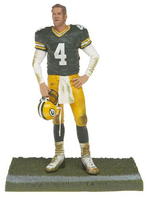 McFarlane Toys NFL Green Bay Packers Sports Picks Series 12 Brett Favre Action Figure [Green Jersey]