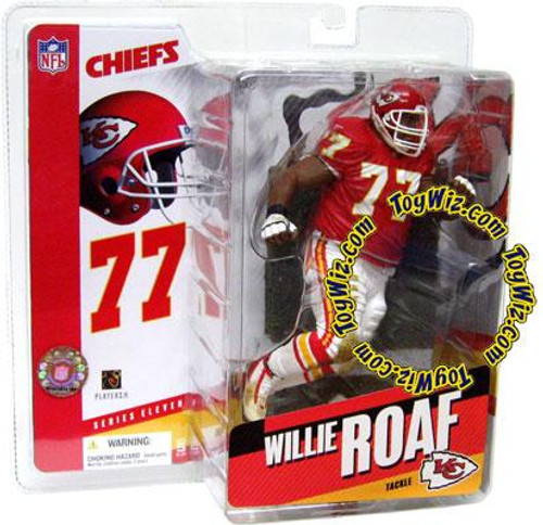 McFarlane Toys NFL Kansas City Chiefs Sports Picks Series 11 Willie Roaf Action Figure [Red Jersey]