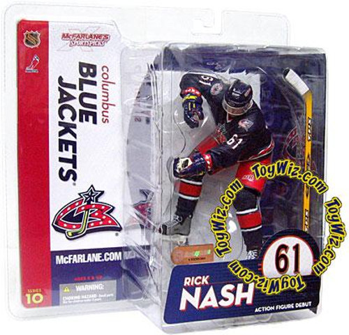 McFarlane Toys NHL Columbus Blue Jackets Sports Picks Series 10 Rick Nash Action Figure [Blue Jersey Variant]