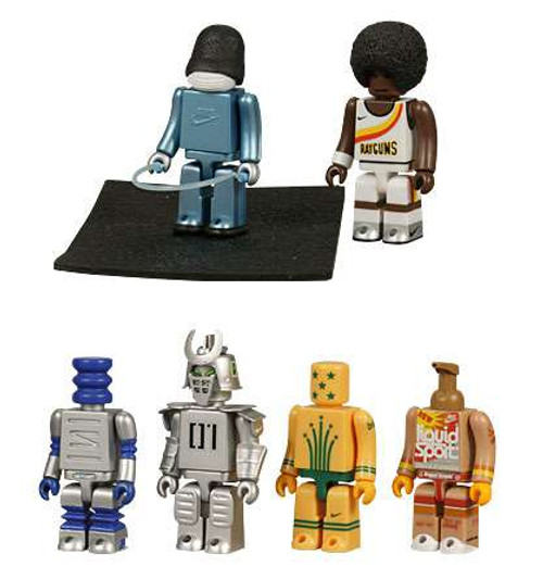 Kubrick NIKE Generation 1 Set 3B Collectible Figures [Damaged Package, Mint Contents]