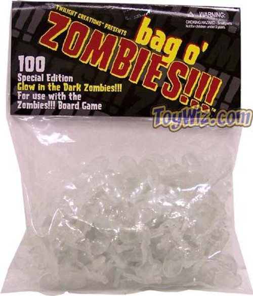 Bag-O-Zombies Board Game Accessory [Glow In The Dark]