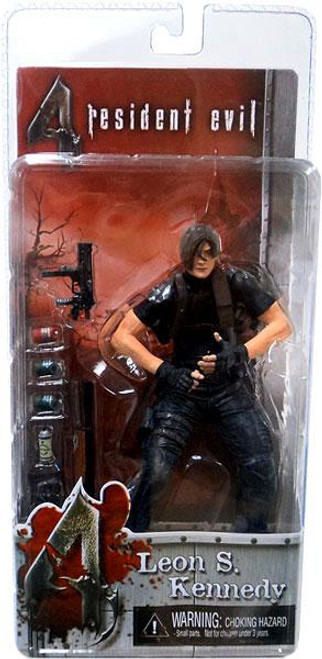 NECA Resident Evil 4 Series 1 Leon S. Kennedy without Jacket Action Figure