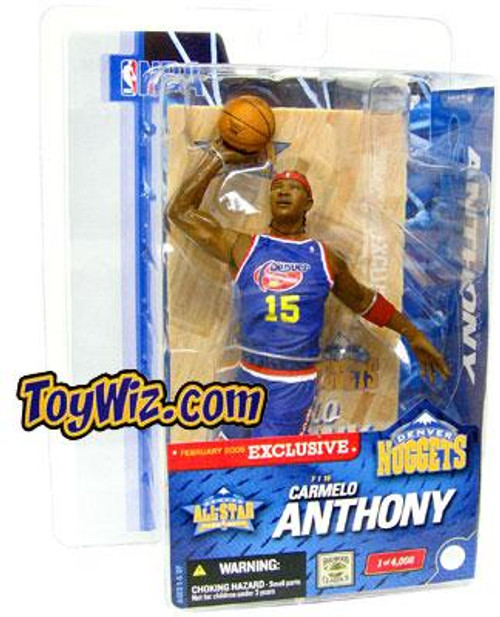 McFarlane Toys NBA Denver Nuggets Sports Picks Exclusive Carmelo Anthony Exclusive Action Figure