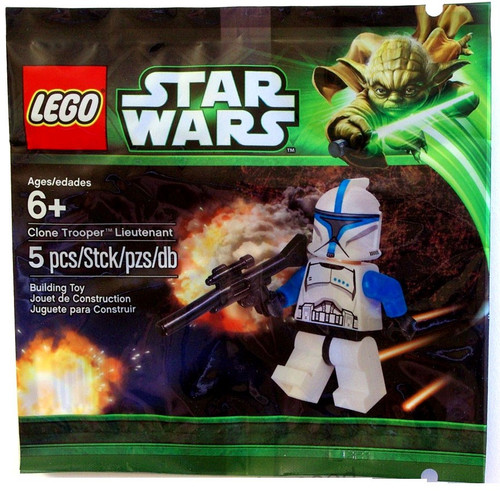 LEGO Star Wars The Clone Wars Clone Trooper Lieutenant Mini Set #5001709 [Bagged]