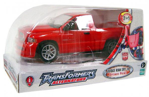 Transformers Alternators Dodge Ram SRT-10 Optimus Prime Action Figure