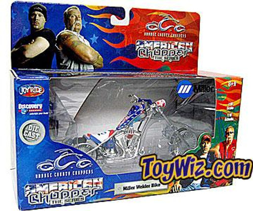 Orange County Choppers Miller Welder Bike Diecast Vehicle