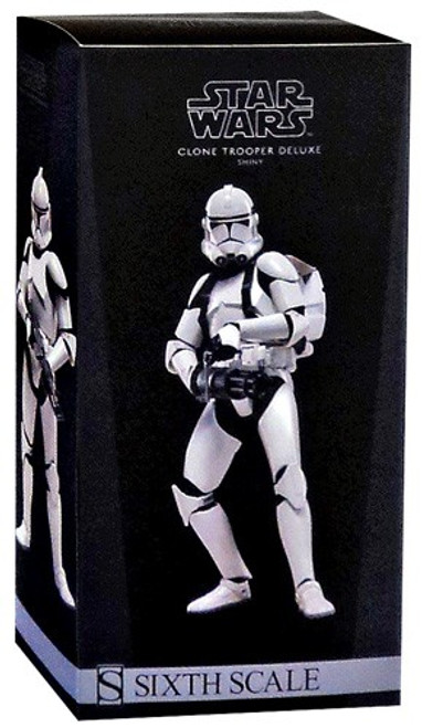The Clone Wars Militaries of Star Wars Sixth Scale Clone Trooper Deluxe 12 Inch Action Figure [Shiny]