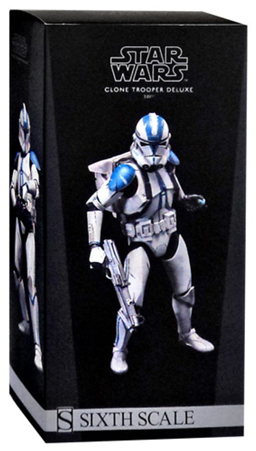 The Clone Wars Militaries of Star Wars Sixth Scale 501st Clone Trooper 12 Inch Action Figure