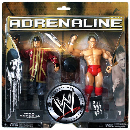 WWE Wrestling Adrenaline Series 20 Paul Burchill & William Regal Action Figure 2-Pack
