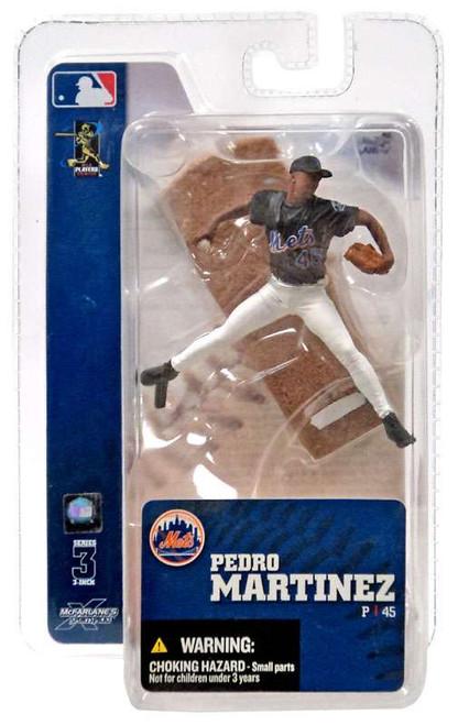 McFarlane Toys MLB New York Mets Sports Picks 3 Inch Mini Series 3 Pedro Martinez Mini Figure