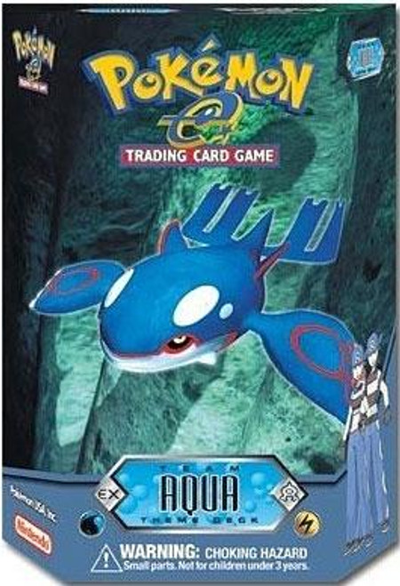Pokemon-e Team Aqua Theme Deck [Sealed Deck]