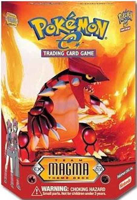 Pokemon-e Team Magma Theme Deck [Sealed Deck]