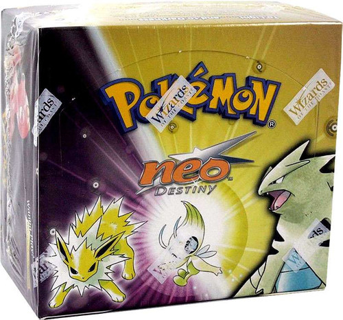 Pokemon Neo Destiny Booster Box [36 Packs] [Sealed]
