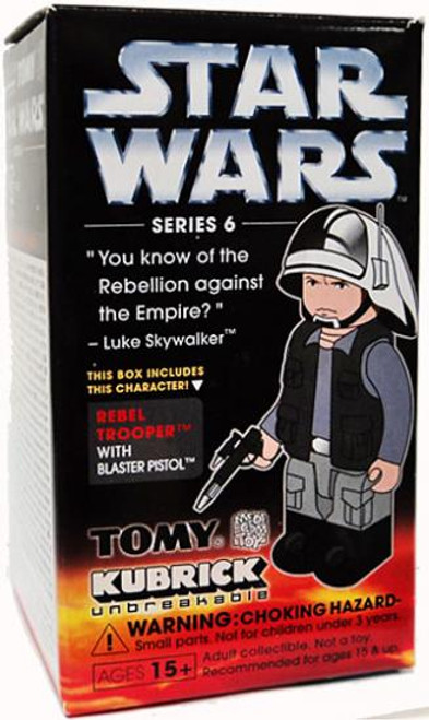 Star Wars A New Hope Kubrick Series 6 Rebel Trooper Mini Figure