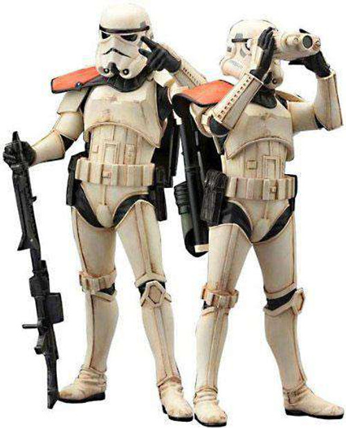 Star Wars ArtFX Sandtrooper Squad Leader 1/10 Statue 2-Pack