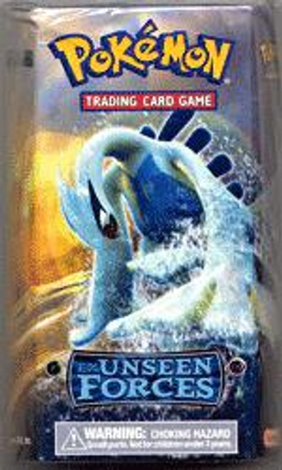 Pokemon EX Unseen Forces Silvery Ocean Theme Deck [Sealed Deck]