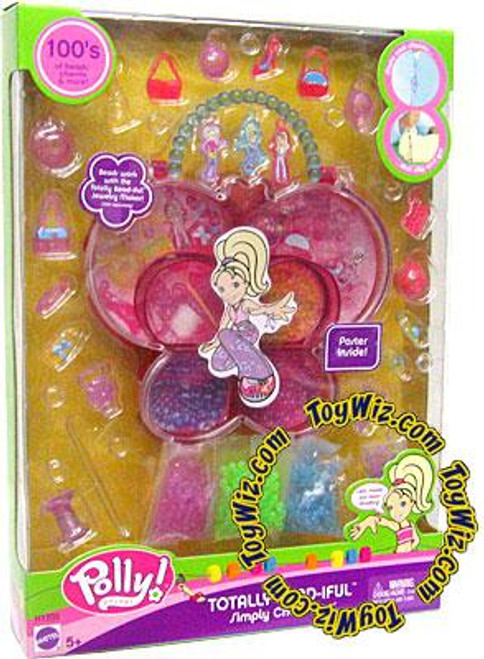Polly Pocket Totally Bead-iful Simply Charming Jewelry Kit