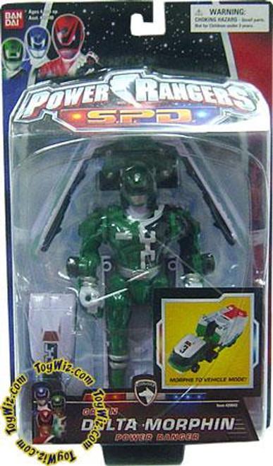 Power Rangers SPD Green Delta Morphin Power Ranger Action Figure