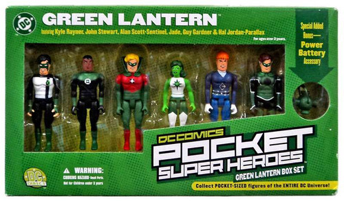 DC Pocket Super Heroes Green Lantern Corps Action Figure Boxed Set