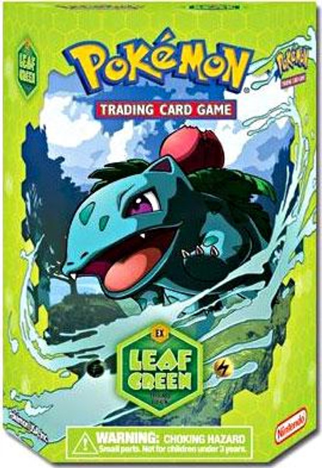 Pokemon Fire Red & Leaf Green Leaf Green Theme Deck [Sealed Deck]
