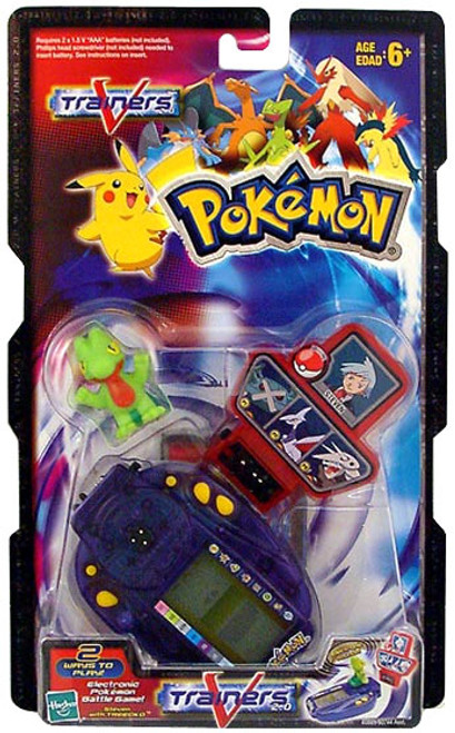 Pokemon V-Trainers Steven with Treecko Battle Pack