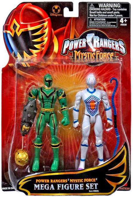 Power Rangers Mystic Force Green Ranger & White Triptoid Exclusive Action Figure 2-Pack