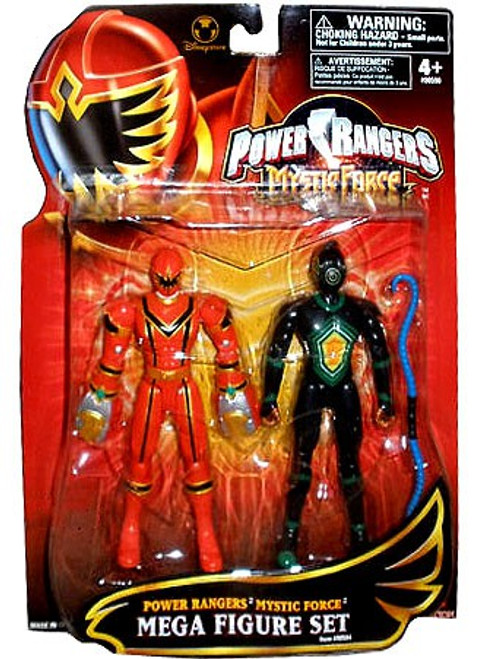 Power Rangers Mystic Force Red Ranger and Black Triptoid Exclusive Action Figure 2-Pack