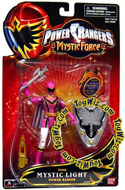 Power Rangers Mystic Force Pink Mystic Light Power Ranger Action Figure
