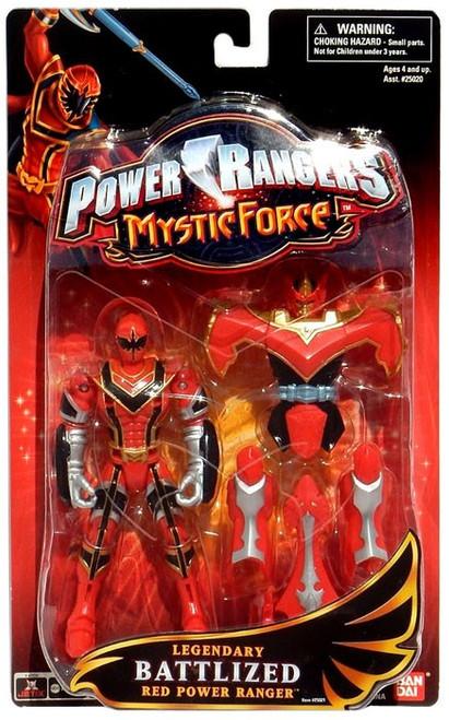 Power Rangers Mystic Force Legendary Battlized Red Power Ranger Action Figure