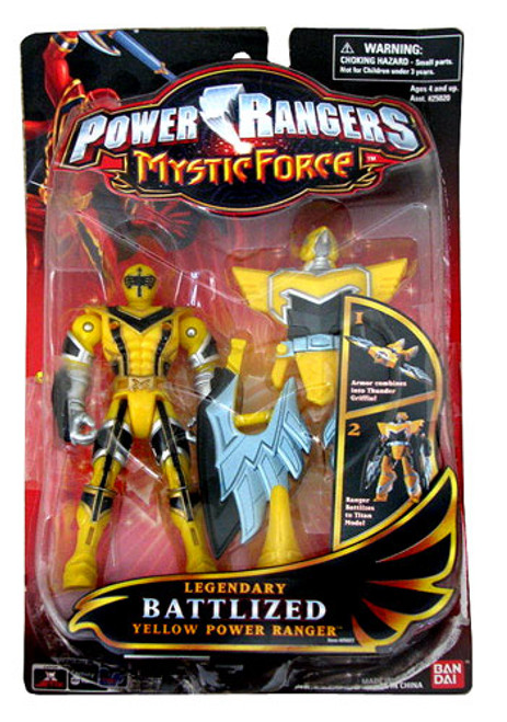 Power Rangers Mystic Force Legendary Battlized Yellow Power Ranger Action Figure