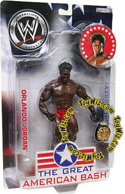 WWE Wrestling The Great American Bash Orlando Jordan Action Figure
