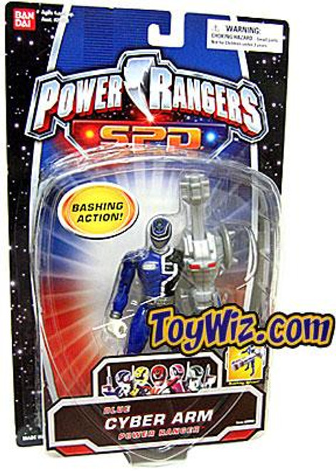 Power Rangers SPD Blue Cyber Arm Power Ranger Action Figure